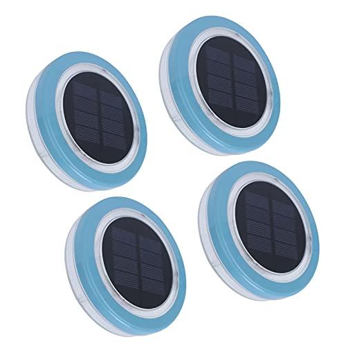 Cloudbox Solar Floating Light 4Pcs Solar Floating Lights wasserdichte LED Schwimmbadlampe Solar Landschaftslicht für Outdoor Landscape