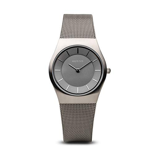 BERING Damen-Armbanduhr Analog Quarz Edelstahl 11930-077