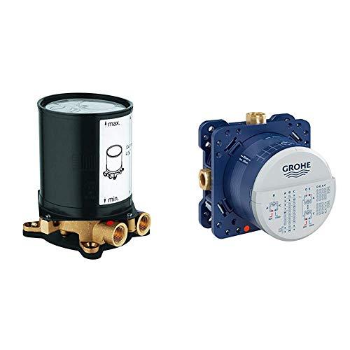 Grohe UP-Rohinstallationen Rohbauset (DN 15) 45984001 & Rapido SmartBox (UP-Rohinstallationen, Unterputz-Einbaukörper, DN 15) 35600000