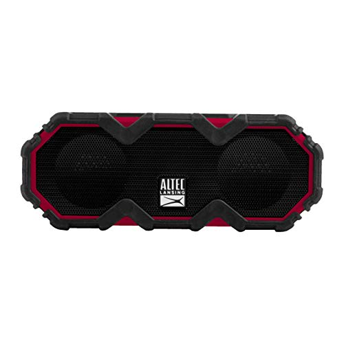 Altec Lansing IMW479 Mini LifeJacket Jolt Heavy Duty Rugged and Waterproof Ultra Portable Bluetooth Speaker with up to 16 Hours of Battery Life, 100FT Wireless Range and Voice Assistant (TRD)