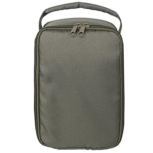 フィッシュラインフィッシュベイトバッグ - ミリタリーグリーン、折りやすく、清潔で丈夫な、オーク、カエデ、ウッドブロックの積み重ねに適しています。