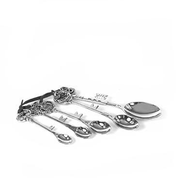 Creative Zinc Alloy Measuring Spoon Set with Key Handles