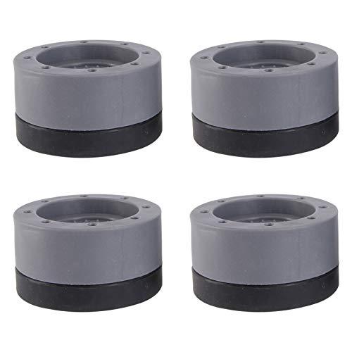 Angoily 4Pcs Waschmaschine Anti Vibration Pads Noise Moving Schütteln Walking Absorbieren Non Slip Grip Füße Pads für Trockner Waschmaschine Appliance