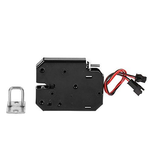 DC 12V Elektroschloss Magnetverschluss Zugangskontrolle für Schrank Schublade Tür Access Control System (mit Erkennung Schalter)