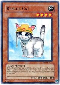 Yu-Gi-Oh! - Rescue Cat (DR3-EN153) - Dark Revelations 3 - Unlimited Edition - Common
