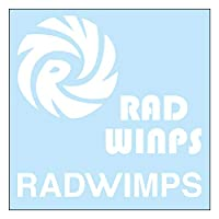 RADWIMPS ロゴ カッティングステッカーS 白