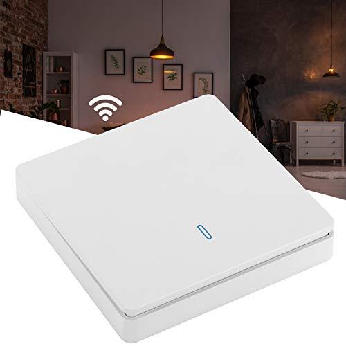 Interruptor teledirigido, 220V Interruptor de luz inteligente fácil de instalar Alta sensibilidad para el hogar