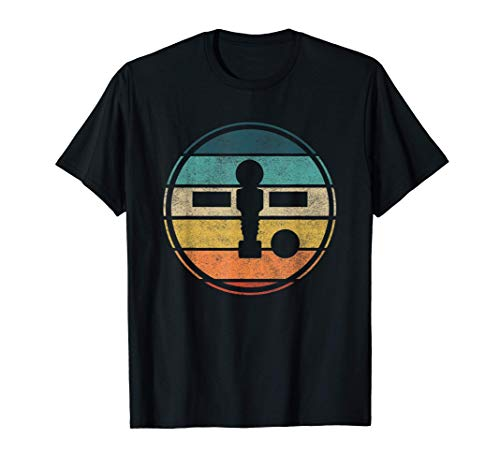Tischußball Geschenk für Tischkicker Fans T-Shirt