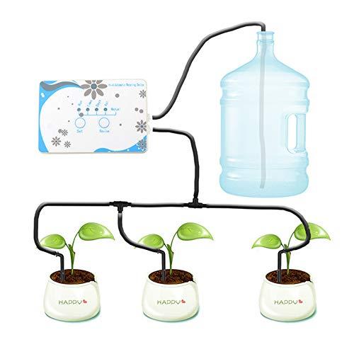 SMAA Irrigazione Automatico Sistema drenaggio, connessione Wi-Fi iOS o Android e App Controllo pianta irrigazione Dispositivo, con 10m Tube, per Giardini, balconi, cesti appesi, Piante in Vaso