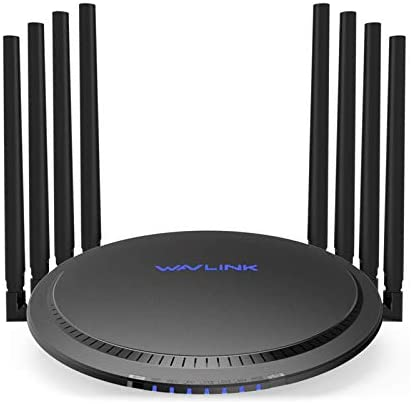 WAVLINK WiFi Router AC3000 Wireless Tri Band Gigabit Router High Speed WiFi Range Extender 4K product image