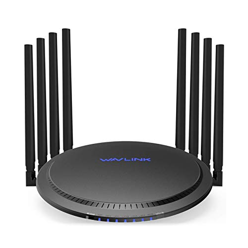 WAVLINK Gigabit WiFi Router AC3000 Wireless Tri-Band WiFi Router/High Speed WiFi Range Extender,4K Streaming and Gaming with USB 3.0 Ports Wireless Internet Router,Parental Control&QoS