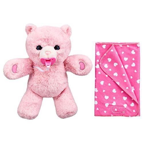 Takara Tomy Dakotto Neln Peach Bear W11.4 x H7.3 x D6.5 inches (290 x 185 x 165 mm)