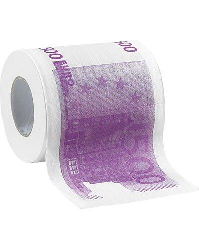 Papel higiénico '500 €'