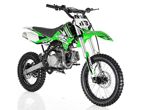 Apollo DB-X18 125cc Dirt Bike Green