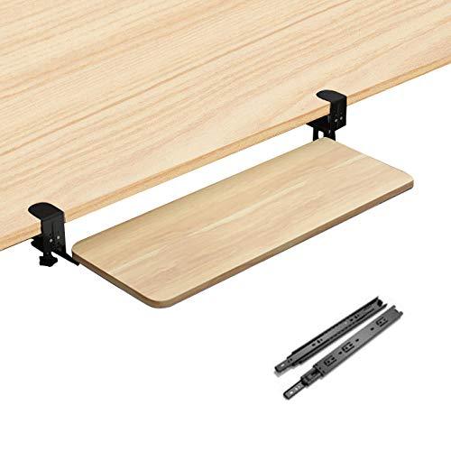 ZYZZ Holz Ausziehbare Tastaturablage mit...