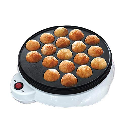 XIANL Mini Pancake Maker Backmaschine Haushalt elektrische Takoyaki Maker Octopus Ball Grillpfanne Küche Kochwerkzeuge Keksmaschine