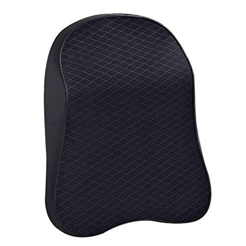JONJUMP 3D espuma de memoria almohada de cuello de coche ajustable reposacabezas auto almohada de viaje soporte de cuello fundas de asiento