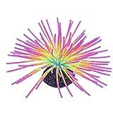 01 Coral Falso, Plantas Coralinas Artificiales del Silicón Decorativo del Paisaje para El Acuario(Color)