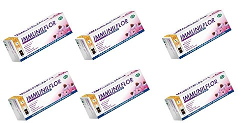 ESI - IMMUNILFLOR MINI DRINK 6 CONFEZIONI DA 12 FLACONCINI difese immunitarie, influenza, raffreddore, con fermenti e miele di manuka