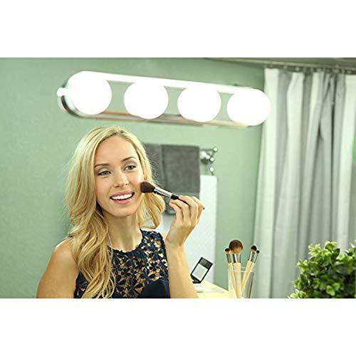 Pywee Schminktisch Beleuchtung, Hollywood-Stil Vanity Spiegellampe Schminklicht Make up Licht Spiegel Beleuchtung Beauty Schminktisch Leuchte für Kosmetikspiegel Schminkspiegel