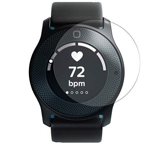 Vaxson 3 pellicole protettive compatibili con smartwatch Philips Health Hybrid Watch, protezione schermo senza bolle [non vetro temperato]