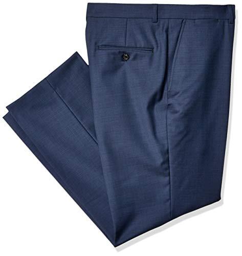 Tommy Hilfiger Men's Modern Fit Suit Separates, New Navy Sharkskin, 36W x 30L