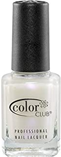 Color Club Nail Polish, White, Femme Fatale, 0.5 Ounce by Color Club