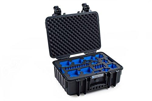 B&W outdoor.cases Typ 4000 mit GoPro Hero 5 / 6 / 7 Inlay - Das Original