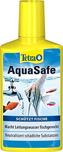 Tetra Aquasafe de purificador de agua para acuarios