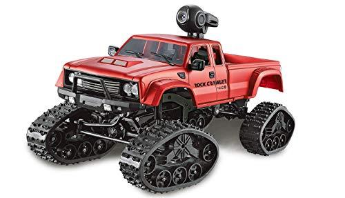 Amewi 22391 Pickup Truck FPV mit Rädern & Ketten 4WD 1:16 rot