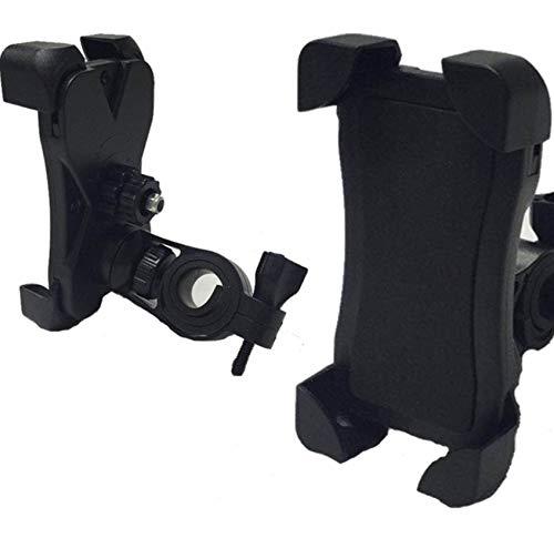 Soporte Universal para teléfono para Bicicleta, Soporte para teléfono móvil para Motocicleta, Soporte para teléfono para Bicicleta con rotación 360, para 3,5-6,5 Pulgadas