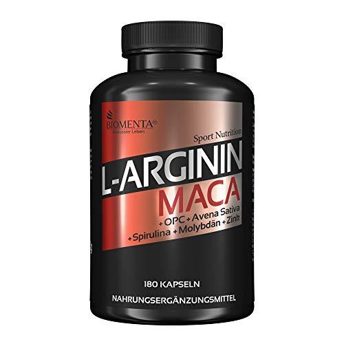 Biomenta L-Arginin und Maca
