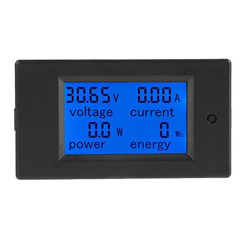 Aramox Digital Multimeter Digital LCD Voltmeter DC 6,5-100 V Stromzähler Elektrische Energie Energie Volt Meter, 50 / 100A Shunt(50A Current Shunt)