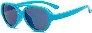 GNJM - Kids Gafas De Sol, Kids Sunglasses Polarizadas Flexibles De Goma, Toddler Gafas De Sol De Silicona para Niños De 3 A 10 Años De Edad