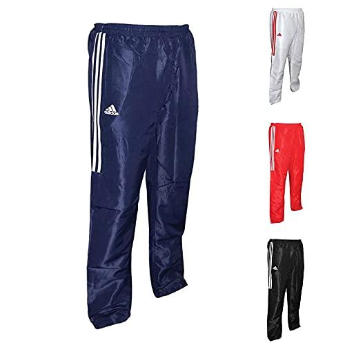 adidas Unisex's Track Suit Pants, Blue, Small