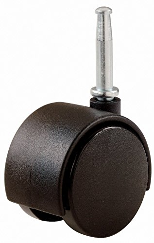 2' Inch Office Chair Caster Wheel, 5/16' Stem, 75 Lb Load Capacity (4)