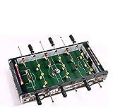 YLJYJ Mini Juego de Mesa de Madera, futbolín de fútbol, máquina de fútbol de Mesa de 8 Postes, Juguete de Interior, competición portátil, clásico para niños (Juegos de Escritorio)