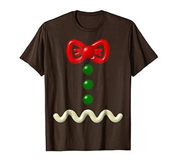 Funny Gingerbread Man Costume Halloween Gift Shirt