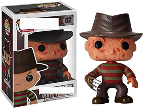 Pop! A Nightmare on Elm Street - Freddy Krueger Vinyl Movie Masterpiece Movie Series Horror Collectible Toy Multicolor-A
