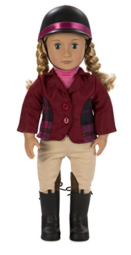 Our Generation Dolls 18-inch Deluxe Lily Anna Doll with Book