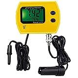 wasserprüfgerät digital phmetro alta precisione 2 in 1 metro 991 tester del phmetro temp termometro wasserqualitätsanalysator per piscine acquari,giallo