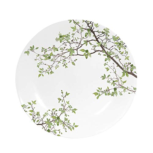 Easy Life 1083NTRA Coffret Assiette Dessert, Porcelaine, Blanc, 19 cm, 19 x 19 x 2 cm