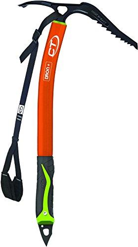 Climbing Technology Dron Plus, Piccozza Unisex Adulto, Arancio/Nero, taglia unica