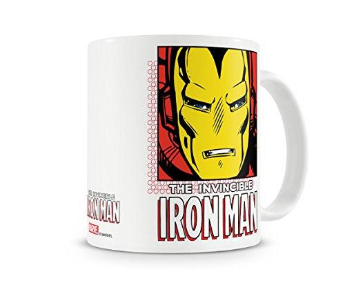 Marvel Oficialmente Licenciado The Iron Man Taza cerámica de café