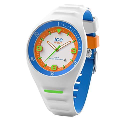 Ice-Watch - P. Leclercq White colour - Weiße Herrenuhr mit Silikonarmband - 017595 (Medium)