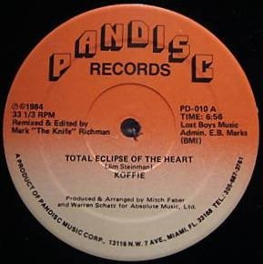 Koffie - Total Eclipse Of The Heart - Pandisc
