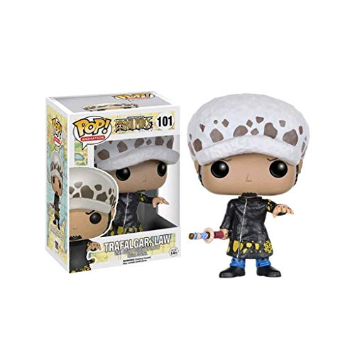 YYBB Pop Animacion: One Piece - Trafalgar.Law Vinil Figura Exclusiva Figura Coleccionable, Multicolor Figurines