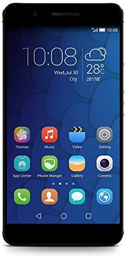 Honor 6 Plus Smartphone (5,5 Zoll (14 cm) Touch-Bildschirm, 32 GB Speicher, Android 4.4) schwarz