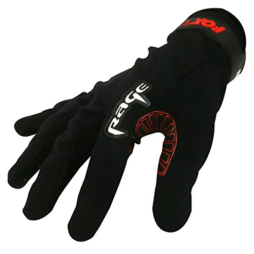 Fox Rage Fisch Landehandschuh Angeln - Power Grip Gloves Medium, M, schwarz