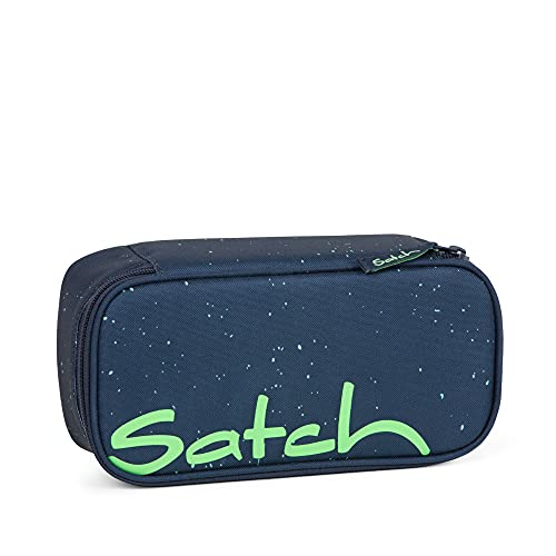SATCH Space Race Federmäppchen, 22 cm, 0.3 Liter, Blue Green Speckled